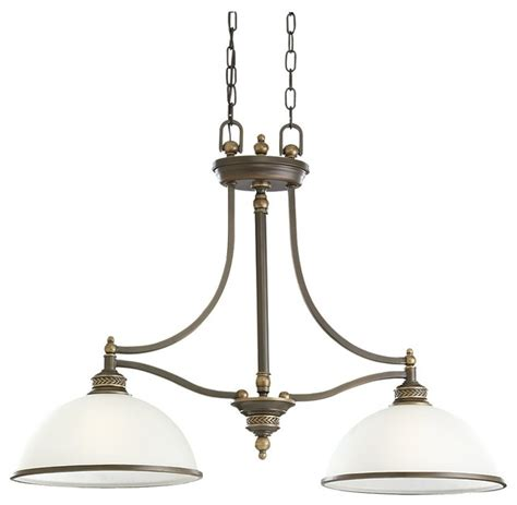Traditional Island Lighting with Sea Gull Two Light Island Pendant Traditional Kitchen Island Lighting By Lighting Pavilion