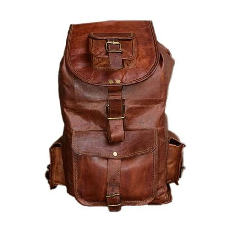 Backpack Handmade - plh7 vintage silo leather backpack handmade 16 quot