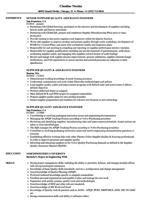 qa resume examples resume sample