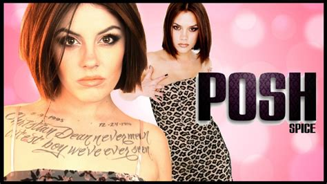 Its On Vs Posh Spice by Posh Spice Spice Transformation Makeup Tutorial