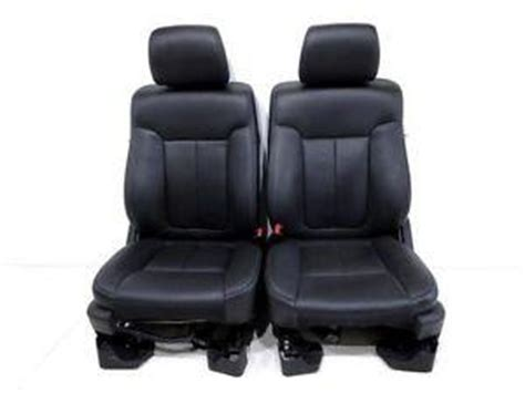 oem ford truck replacement seats replacement ford oem f 150 f150 truck black leather sport