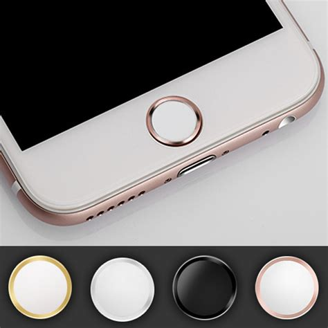 Touch Id Iphone Model Home Button support touch id home button fingerprint sticker for apple