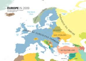 where is in europe map europe in 2009 print alphadesigner store