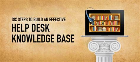 Knowledge Desk by Six Steps To Build An Effective Help Desk Knowledge Base