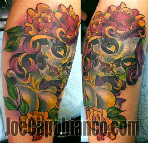 blood pudding tattoos joe capobianco pin up tattoos www imgkid the image
