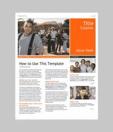 Free Newsletter Templates Downloads For Word by Word Newsletter Template 31 Free Printable Microsoft