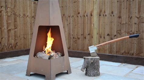 chimenea jotul jotul terrazza outdoor chimenea fireplace products youtube