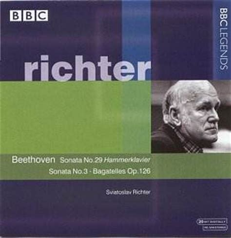 beethoven biography bbc richter plays beethoven bbc classical cd reviews
