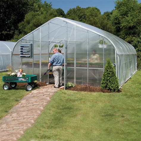 growspan gothic pro greenhouse system