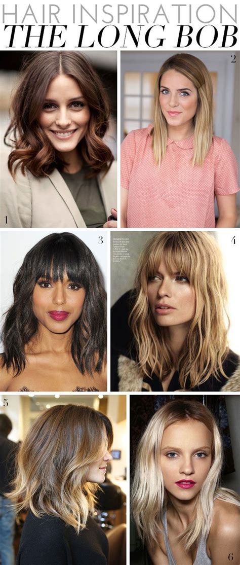 alina ermilova inspiration lob haircut the long bob a collection of ideas to try about hair and