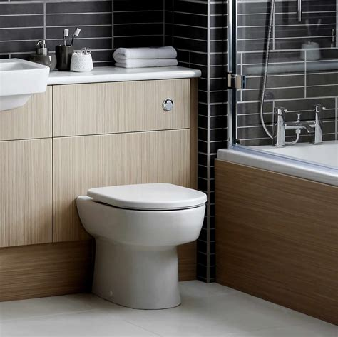 Slimline Bathroom Furniture Noble Dueto Slimline Toilet Unit Uk Bathrooms