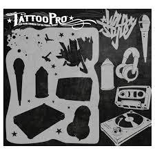 tattoo pro stencil hip hop atps hokey pokey shop