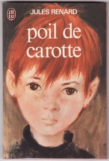 je lis des livres poil de carotte jules renard