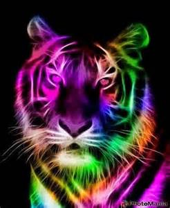 colorful tiger a colorful tiger illustration cool tigers