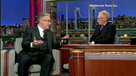 Tells He Messed Up The - olbermann tells letterman he quot screwed up quot on current tv