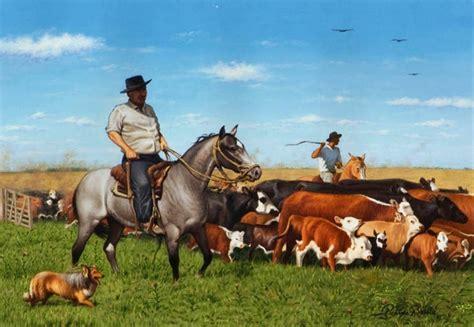 imagenes artisticas de toros cuadros modernos pinturas y dibujos paisajes y caballos