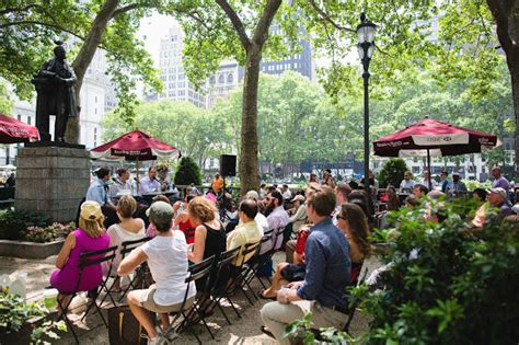 bryant park reading room colum mccann and financial