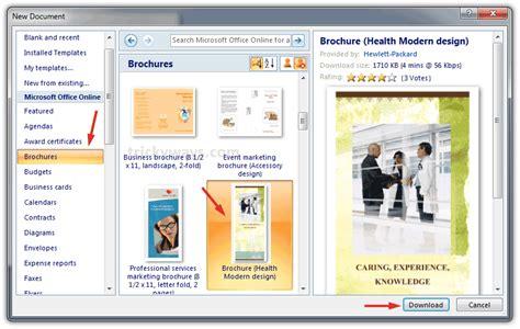 brochure templates microsoft word 2007 2016 05 22 mkphotoshop