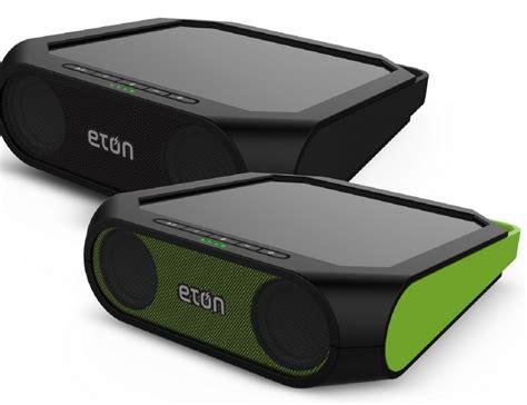 eton rugged rukus eton rugged rukus solar sound system 187 gadget flow