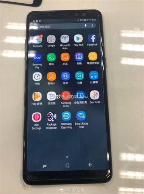 Anti A7 2018 A730 A8 Plus 2018 Softcase Tpu דיווח סמסונג תכריז על ה Galaxy A7 2018 תחת השם Galaxy A8