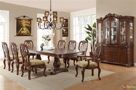 arranging formal dining room set for home decoration