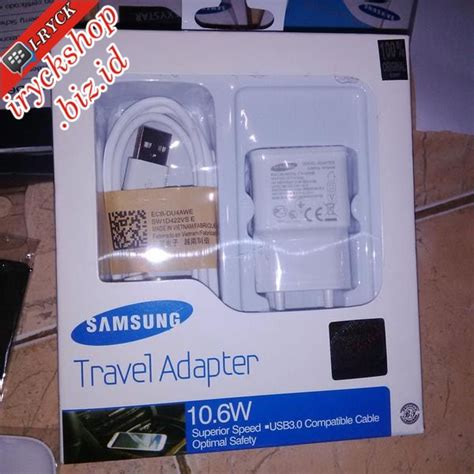 Charger Samsung 10 6w jual charger travel adapter 10 6w 2a for samsung galaxy s4 note 2 grand dll i ryck shop