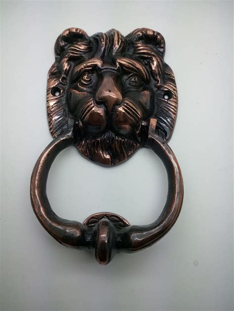 Bel Pintu Ketukan Pintu jual bel pintu ketuk unik model kepala singa