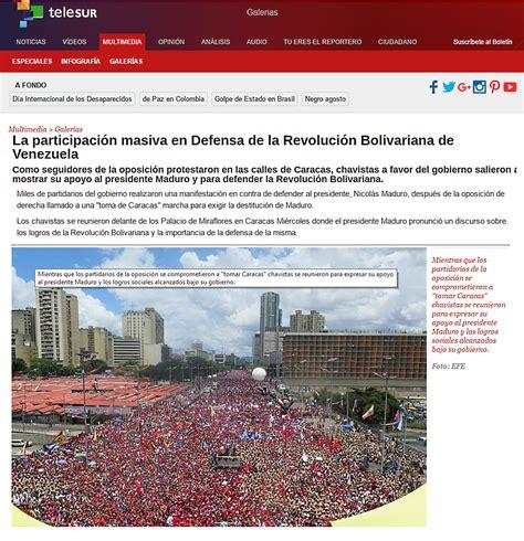 imagenes falsas venezuela mesa redonda contracomunista imagenes falsas de la marcha