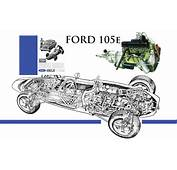 """The Ford """"Kent"""" Engine Four Cylinder Domination Since 1959"""
