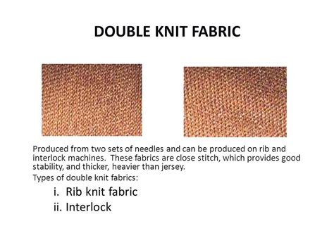 types of knit fabric knitting and nonwoven tech ppt