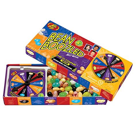 Original Bean Boozled Spinner Asli jelly belly bean boozled with spinner wheel 4th edition import it all