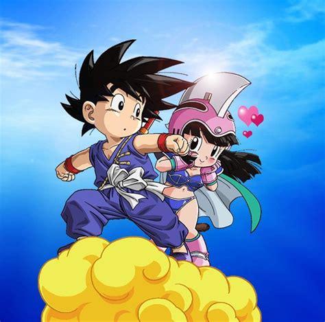 imagenes de goku x milk especial san valentin 10 parejas de anime de todos los tempos