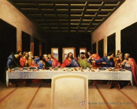 cuadro la ultima cena da vinci cuadro pintado al 243 leo leonardo da vinci la 250 lt comprar