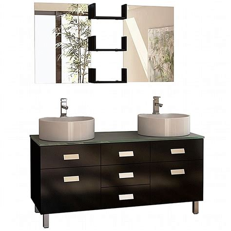 vanity in design home design element wellington 55 in w x 22 in d vanity in