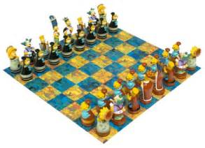 Best Chess Sets Simpsons Chess Set