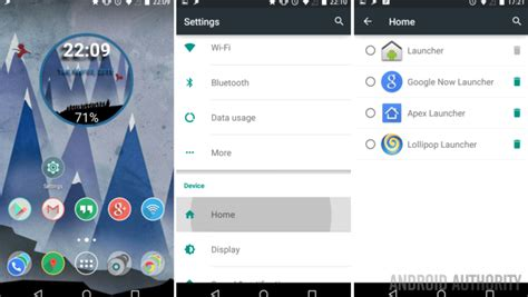 home launcher for android android customization 2 easy ways to launchers on your android device android authority