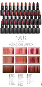nars lipstick colors nars audacious lipsticks look on every skin tone