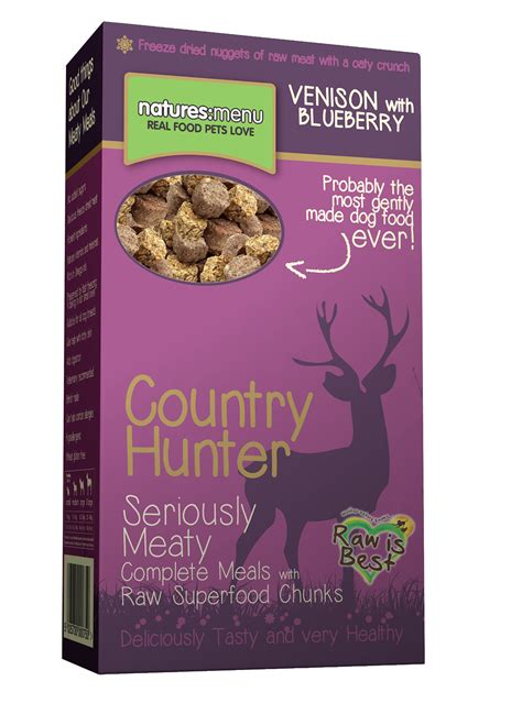 venison food natures menu country venison blueberries food