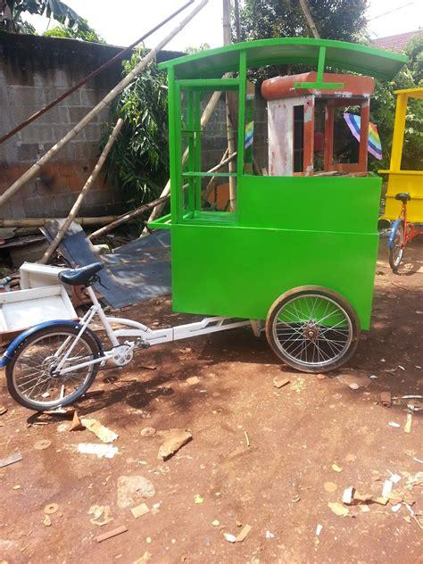 Gerobak Sepedacycle Booth gerobak sepeda media strategi bisnis jualan dengan trick jitu menjemput bola