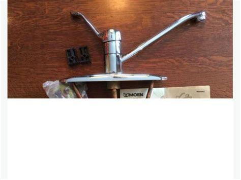 moen single lever chrome faucet lifetime warranty