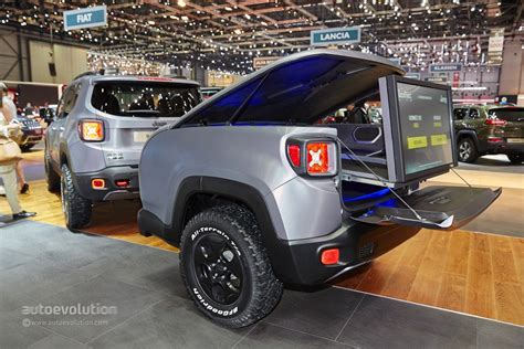 modded jeep renegade 2015 jeep renegade gets the hard steel treatment in time