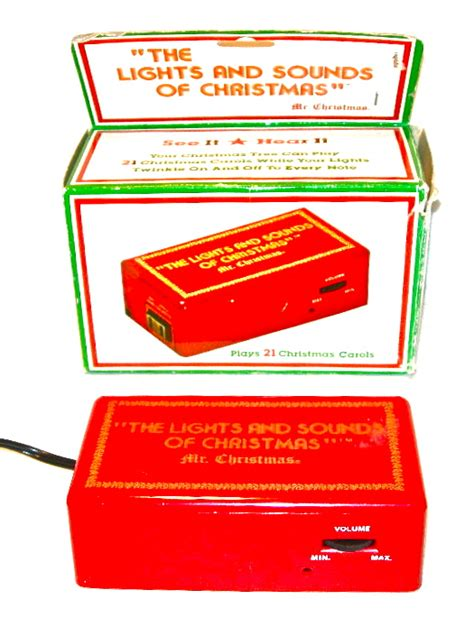 the lights and sounds of christmas deluxe vintage mr lights sounds of device nvision cincinnati handmade