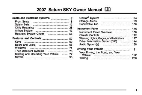 service manual free repair manual 2007 saturn sky service manual 2007 saturn sky sunroof