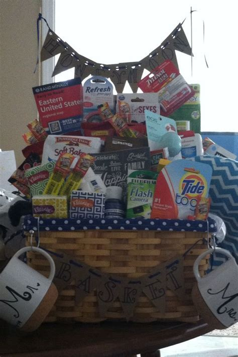 25  best ideas about Travel gift baskets on Pinterest