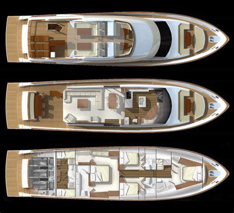 yacht floor plan اليخوت والقوارب السريعة