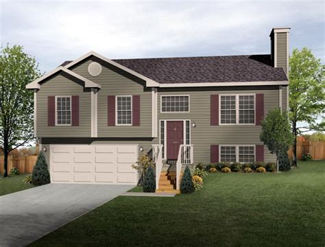 split level ranch split level house plan exterior colors diy home