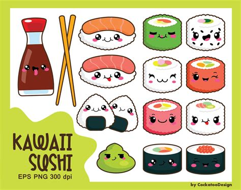 kawaii clipart 30 kawaii clip kawaii sushi clip kawaii