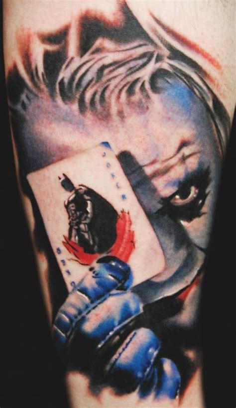 joker tattoo best battoos tattoos inspired by batman batman 66 guff