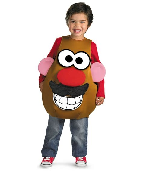 Mascot Squishy Potato Boy And mr potato costume costume deluxe