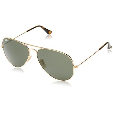 Polarized Sunglass Clasic Ea 62 Include Box ban 3025 aviator large metal non mirrored non polarized sunglasses gold dar ebay